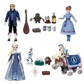 Frozen adventure doll set