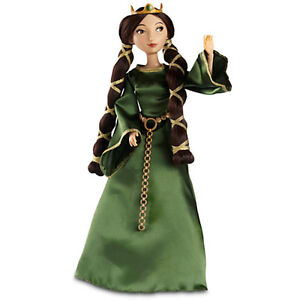 Disney Classic Doll Queen Elinor  - Rare 12 inches BRAVE Merida Exquisite design