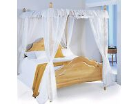 BRAND NEW FOUR POSTER DOUBLE BED FRAME