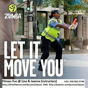 Zumba® sessions offered in May and continuing during summer time