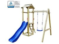 Playhouse Set with Slide & Swing