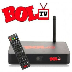 BOL TV comes with all accessories and original box