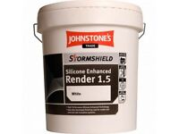 Job lot new JOHNS TONE'S TRADE STORMSHIELD SILICONE RENDER 1.5MM 25KG