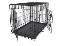 medium dog cage 30 inches long in vgc essex