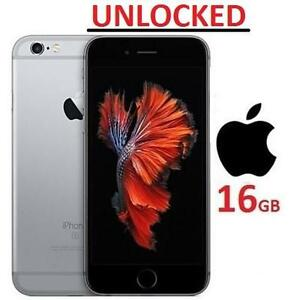 NEW OB APPLE IPHONE 6S 16GB PHONE - 118966976 - UNLOCKED SMARTPHONE SMART PHONE SPACE GREY IOS