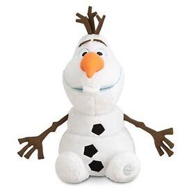 frozen teddie from dismey store Olaf medium size £15.99 ono