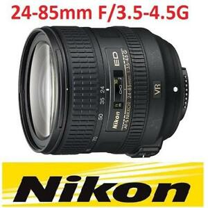 NEW NIKON 24-85mm VR CAMERA LENS NIKON 24-85mm 141524637 Camera Photo Video Camera Lenses Digital SLR Lenses