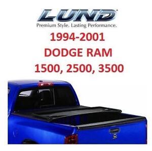 OB LUND TRI FOLD TONNEAU COVER 95017 209578322 GENESIS DODGE RAM OPEN BOX