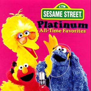 Sesame Street Platinum All-Time Favourites Music CD **BRAND NEW*