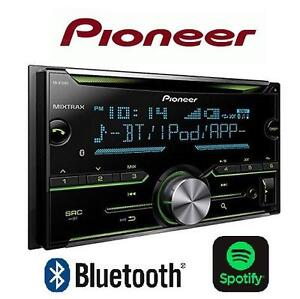 USED* PIONEER CAR STEREO RECEIVER - 113351943 - DOUBLE DIN BLUETOOTH IN DASH STEREO - IPOD/MP3/BLUETOOTH/MIXTRAX/PAND...