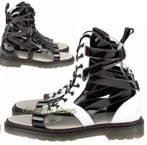 MENS-GLADIATOR-HIGH-TOP-SANDAL-LACE-UP-SNEAKERS-ANKLE-BOOT-LEATHER-SHOES-BLACK