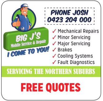 Big J's Mobile Service and Repair Paralowie Salisbury Area Preview