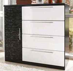 Black and White Bedroom Furniture  Strathcona County Edmonton Area image 2