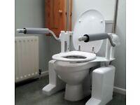Aerolet toilet lift