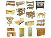 Looking for unwanted furniture sofas tables chairs chest of drawers etc