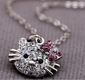 **bran new** hello kitty necklace for your little princess!