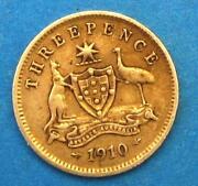 1910 Australian Coins