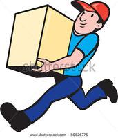Delivery person/ June 3 & 4th.