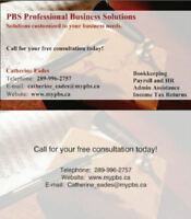 Professional Bookkeeping available for small businesses