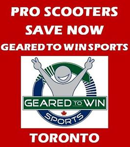 SAVE NOW - PRO/STUNT SCOOTERS - GEARED TO WIN SPORTS!