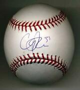 Cliff Lee Signed Baseball