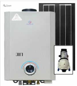 Eccotemp L7 Tankless Water Heater (w/ 12V pump & 30W Solar Kit)