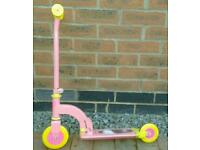 Child's 1st scooter pink