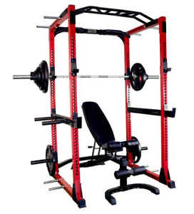 Power Rack, Bench and weight package