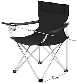 SONGMICS Folding Camping Chairs