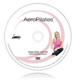 Aero Pilates Simply Cardio levels 1,2 and 3 Workout DVDs featuring Marjolein Brrugman. Brand New