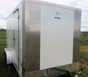New 2016 RC Enclosed Trailers Stock Clearout 6x12 7x14 8x16