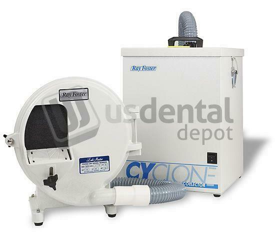 RAY FOSTER DRY MOD TRIM 10IN 110V CYCLONE DUST COLLECTOR  116011 US DENTAL DEPOT