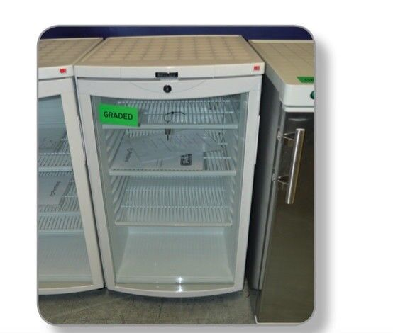 Blizzard Bc105 Single Under Counter Glass Door Refrigerator Graded