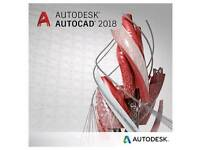AutoCAD & Revit 2018 - TWO FULL Software for PC