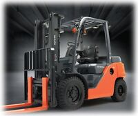 FORKLIFT COURSE STARTING THIS WEEKEND!!!!