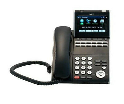Nec Itl-12dg-3 Bk - Dt730g - 12 Button Color Display Ip Phone - Free Shipping