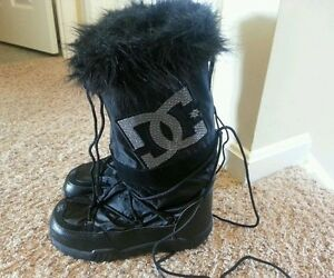 Womens DC Chalet Winter Boots - Size 6