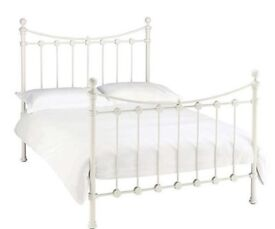 Double bed frame, metal