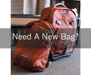 Highly versatile luggage set for sale St Kilda Port Phillip Preview