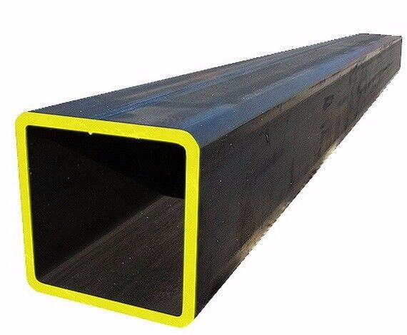 """1"""" x 1"""" x 1/8"""" STEEL  SQUARE TUBE 12 INCHES LONG"""