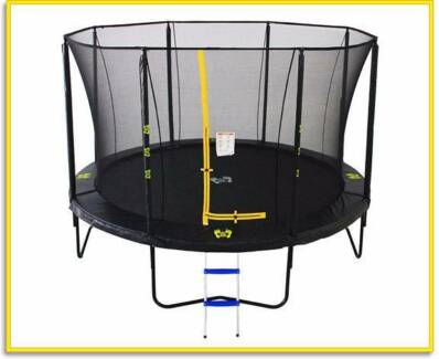 Brand New 14ft Big Air Extreme Trampoline + Safety Enclosure