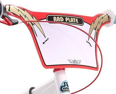 SE Racing 2019 SE Bikes Mike Buff PK RIPPER Number Rad Plate. Red/Gold