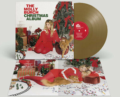 Molly Burch The Christmas Album GOLD VINYL LP Record! & MP3! 2019 holiday album!