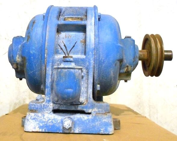 GENERAL ELECTRIC GE INDUCTION MOTOR MODEL 16989, 3PH, 10HP, 440V