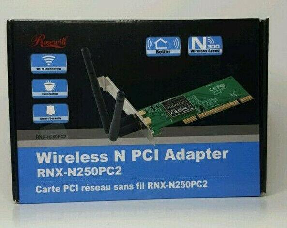 wireless n 300m pci 2 300mbps wifi