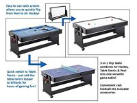 3 in 1 pool table