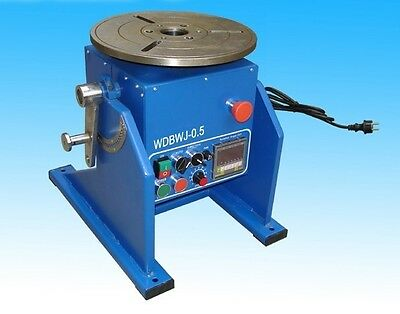 110 Lbs 50kg Automatic Welding Positioner Turntable Fast Shipping