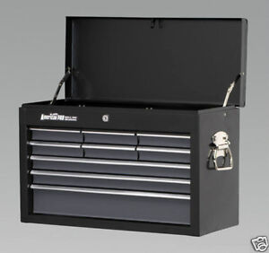 SEALEY-Tool-Chest-Box-Black-9-Drawer-AP2509B-BRAND-NEW