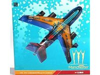 Ltd Edition Corgi 2002 Manchester Commonwealth Games Boeing 707 - NEW IN BOX