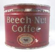 Beech Nut Coffee Tin